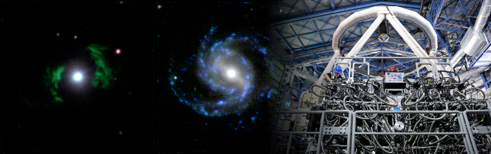 A spatially-resolved multi-wavelength survey of 40 nearby luminous AGN. It combines observations from radio, IR, optical to X-rays. Integral-field spectroscopy with MUSE at the VLT is a cornerstone of the project.