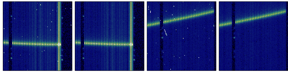 An algorithm to efficiently detect cosmics on single fibre-fed spectrograph CCD images.